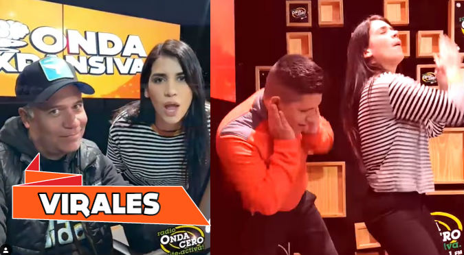 Mathías Brivio y el divertido playback junto a Liz Mariana y Sandoval (VIDEO)
