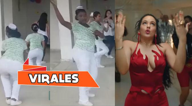 Enfermeras bailan reggaetón de Rosalía para generar conciencia (VIDEO)