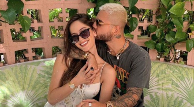 Maluma hizo romántica declaración de amor a su novia (VIDEO)