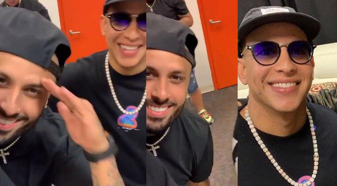 Daddy Yankee y Nicky Jam: Así fue el reencuentro entre los 'Cangrys' (VIDEO)