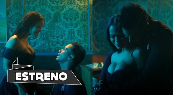Natti Natasha y Romeo Santos protagonizan fuerte escena íntima (VIDEO)