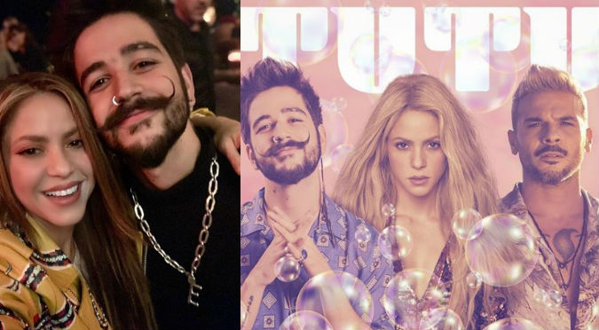 Shakira revel贸 remix de 'Tutu' con Camilo y Pedro Cap贸
