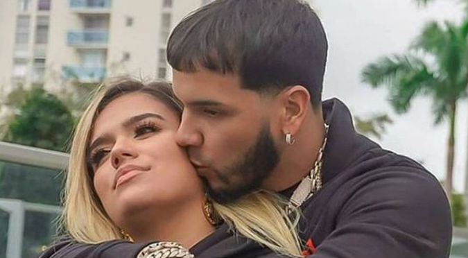 Anuel quiere que Karol G sea su profesora de canto (VIDEO)