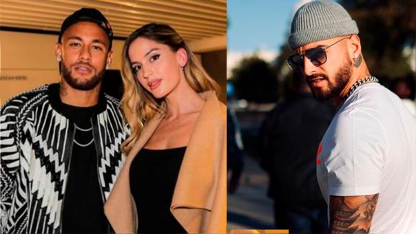 Así reacionó Maluma al ver la foto de su novia junto a Neymar (VIDEO)
