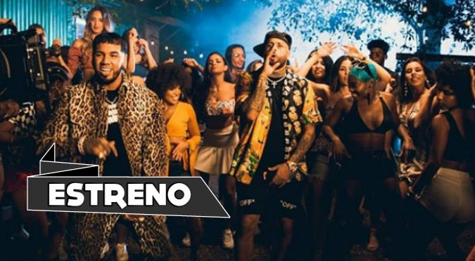 Nicky Jam y Anuel AA ponen a bailar a todos con 'Whine Up' (VIDEO)