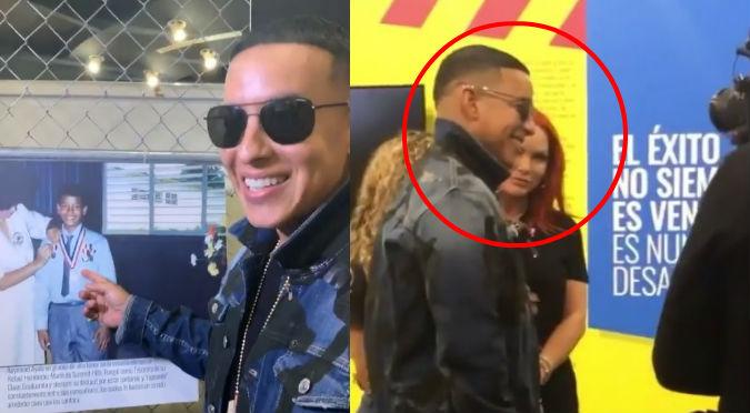 Esposa de Daddy Yankee aparece luciendo cuerpazo en museo del cantante (VIDEO)