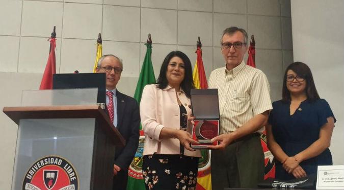 USMP ofrece capacitación fuera del país y firma Convenio Marco con prestigiosa universidad colombiana (FOTOS)