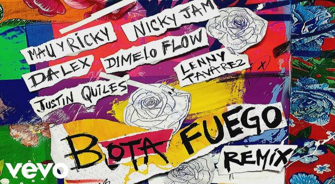 BOTA FUEGO (REMIX) Ft. Dimelo Flow, Justin Quiles & Lenny Tavárez