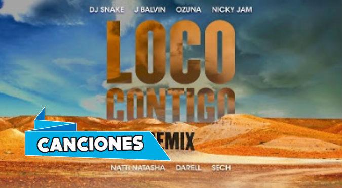 Loco Contigo (Remix) ft. Nicky Jam, Natti Natasha, Darell & Sech