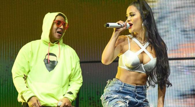 Natti Natasha recibió el año nuevo con Daddy Yankee (FOTOS)