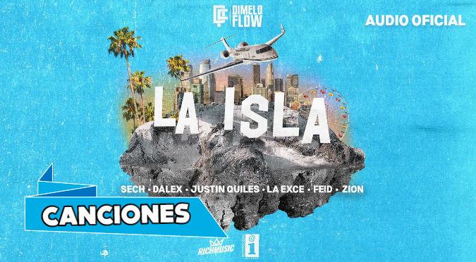 Dimelo Flow - La Isla ft. Sech, Dalex, Justin Quiles, La Exce, Feid, Zion
