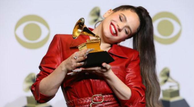 Rosalía ganó su primer Grammy (VIDEO)