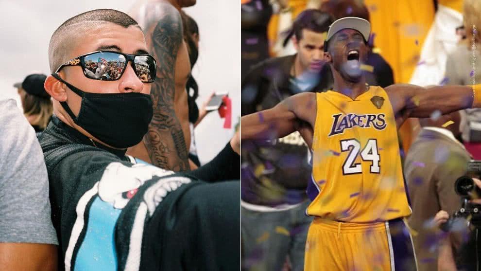 Bad Bunny lanzó nueva canción en honor a Kobe Bryant (VIDEO)
