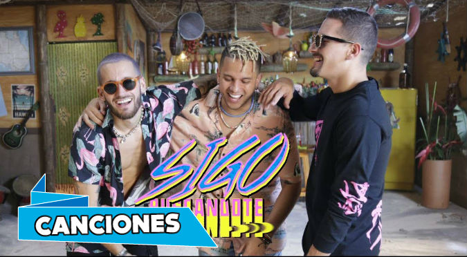 Mau y Ricky & Ovy On The Drums - Sigo Buscandote (VIDEO)