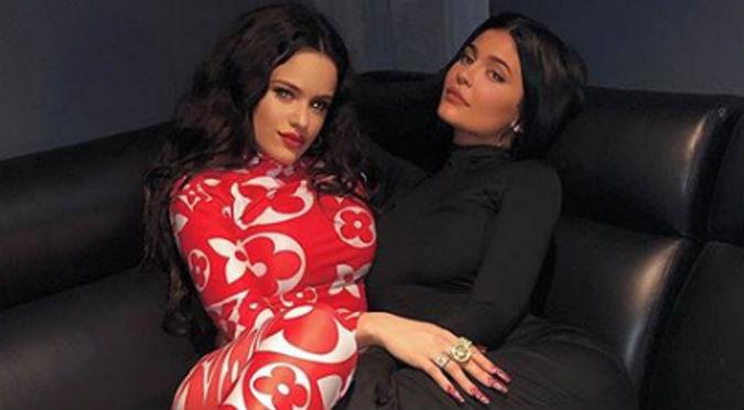 Rosalía imita a Kylie Jenner y es atacada en Instagram (FOTOS)