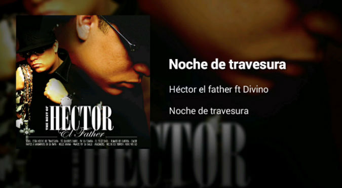 Hector 'El Father' Noche de Travesura (VIDEO)