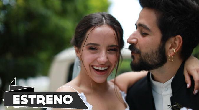 """Camilo y Evaluna estrenan videoclip de """"Por primera vez"""", con imágenes oficiales de su matrimonio (VIDEO)"""