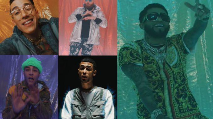 Nio Garcia, Bryant Myers, Miky Woodz, Lenny Tavarez, Jay Wheeler: Nocturna Remix (VIDEO)