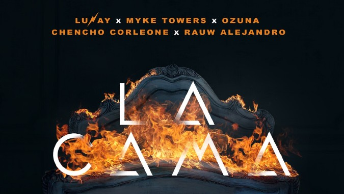 La Cama Remix - Lunay ft Myke Towers, Ozuna, Chencho Corleone, Rauw Alejandro (VIDEO)