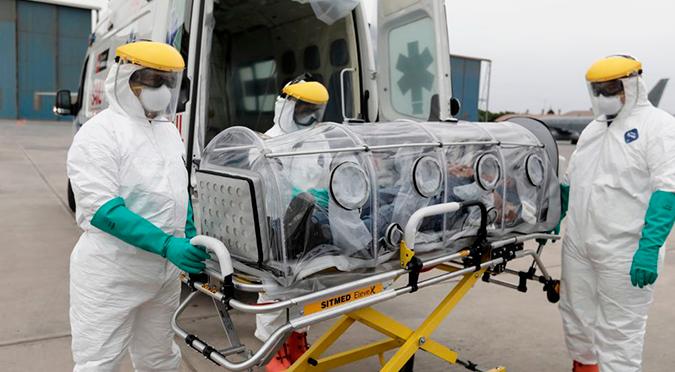 Coronavirus en Perú: aumenta la cifra de infectados a 9784