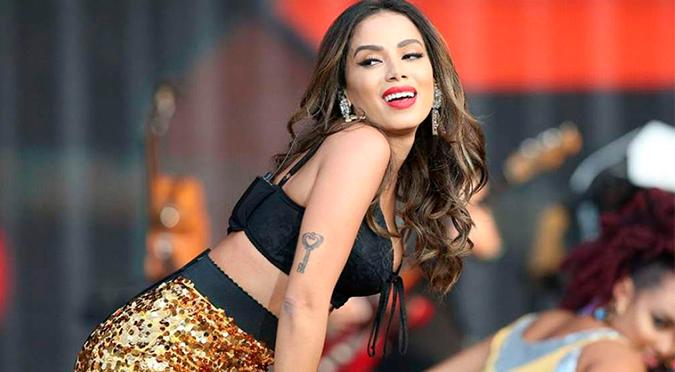 Anitta participará en un festival virtual para recaudar fondos por coronavirus