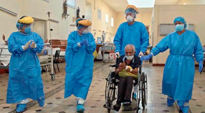 Coronavirus en Perú: paciente de 90 años vence el coronavirus