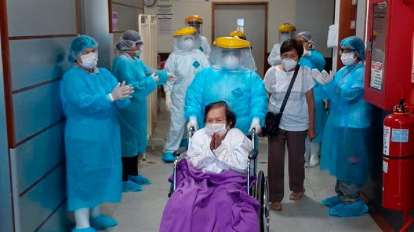 Coronavirus en Perú: paciente de 97 años venció el COVID-19
