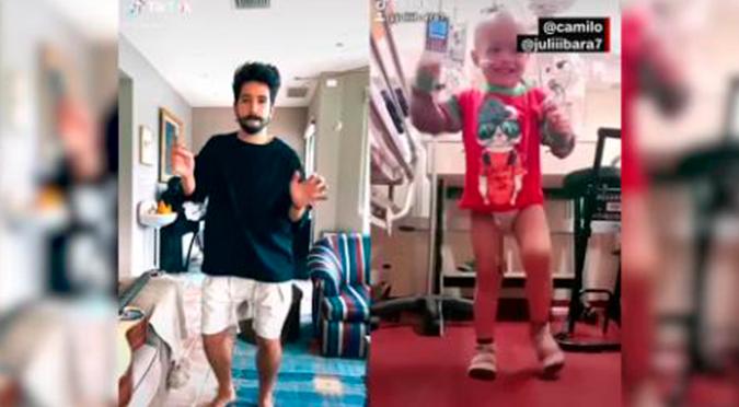 """Camilo hace tierno dúo de baile de """"Favorito"""" con niño argentino   VIDEO"""