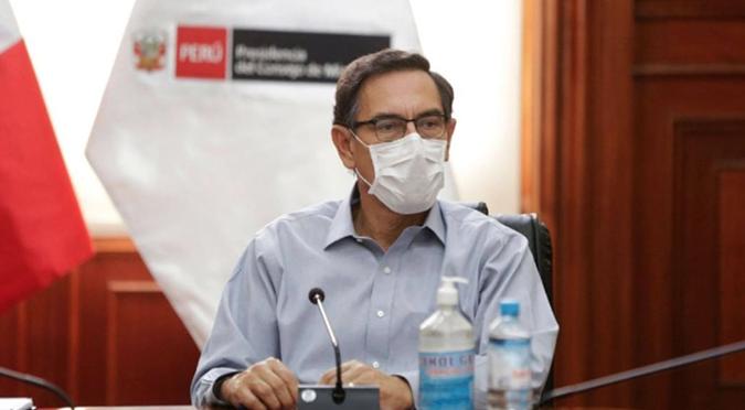 """Martín Vizcarra: """"los resultados de la cuarentena, no han sido los que esperábamos"""""""
