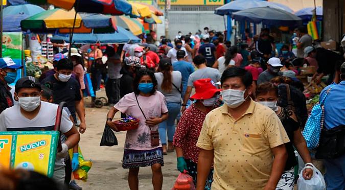 Coronavirus en Perú: casos por COVID-19 aumentan a 54 817