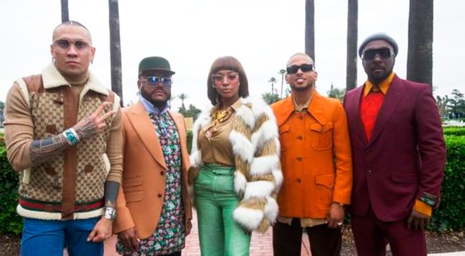 """Black Eyed Peas: """"los artistas urbanos latinos, son titanes de la música"""""""