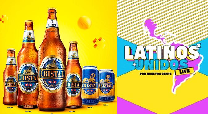 Cerveza Cristal se unirá al #LatinosUnidos para apoyar a personas vulnerables por COVID-19