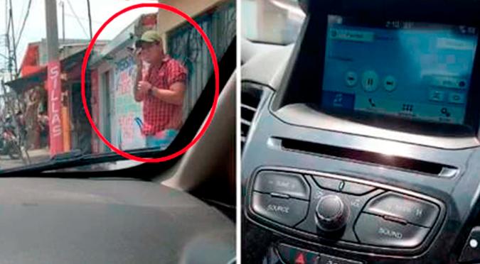 Un hombre llama a su amante cuando su teléfono estaba conectado al auto y su esposa descubre todo | VIDEO