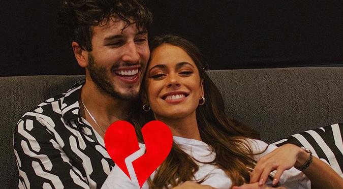 Se acabó el amor: Sebastián Yatra y Tini terminaron su relación