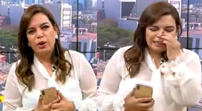 Milagros Leiva confesó que se le caen las extensiones y pidió que abran los salones de belleza | VIDEO