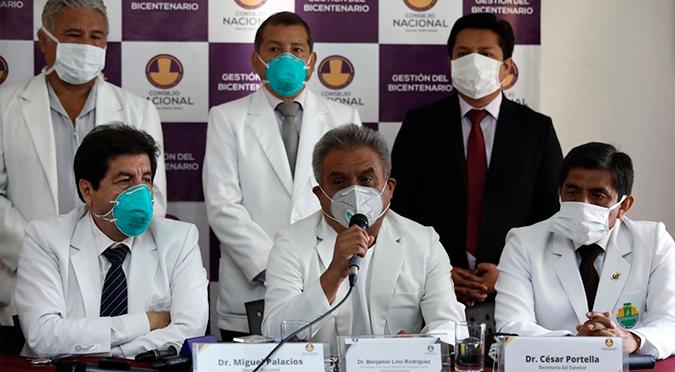 Coronavirus en Perú: Colegio Médico sugiere al gobierno ampliar la emergencia sanitaria por un mes más