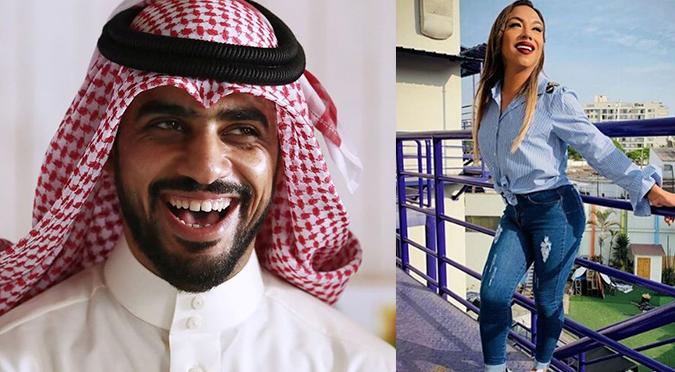 """Revelan que Yaqoob Mubarak le da """"like"""" a las fotos de Dayanita"""
