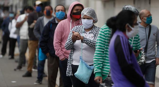Coronavirus en Perú: casos por COVID-19 aumentan a 108 769