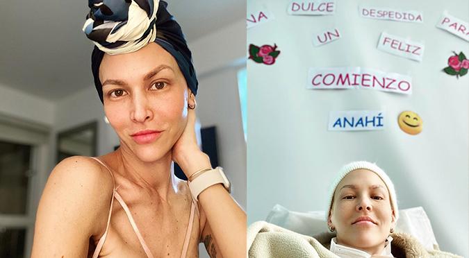 Anahí de Cárdenas recibe conmovedor homenaje tras finalizar sus quimioterapias | VIDEO