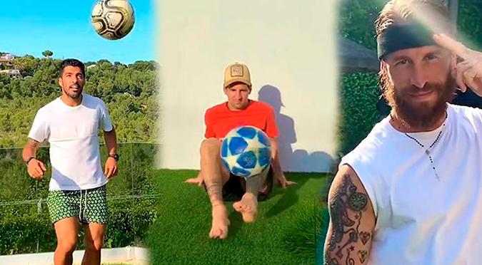 Messi, Suárez y Ramos son las estrellas del nuevo videoclip de Anuel AA, 'Fútbol y Rumba' | VIDEO