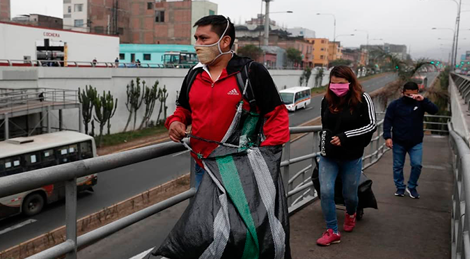 Coronavirus en Perú: casos por COVID-19 aumentan a 187 400