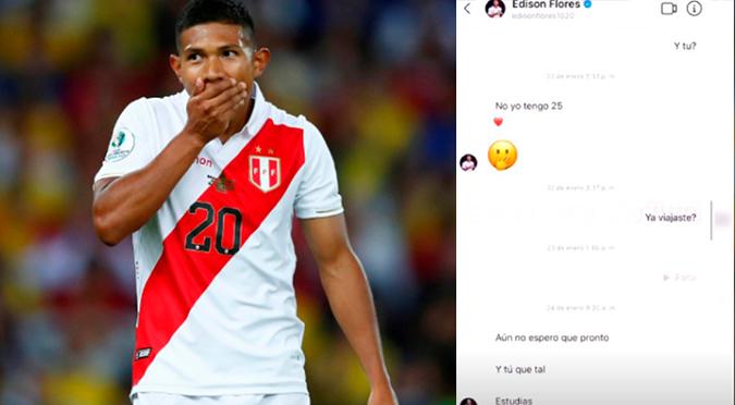 Se filtran supuestas conversaciones de Edison Flores con joven en redes sociales | VIDEO