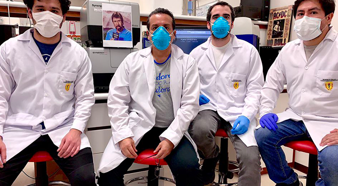Científicos peruanos lograron crear prueba rápida molecular para detectar COVID-19