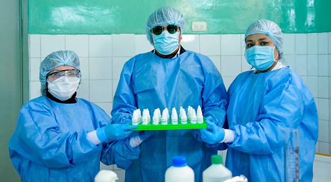 Coronavirus en Perú: Arequipa entrega primer lote de ivermectina producido en la región
