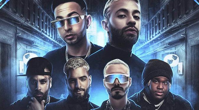 Feid estrena 'Porfa' remix junto a J Balvin, Maluma, Nicky Jam, Sech y Justin Quiles