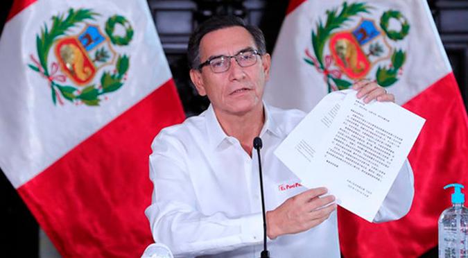 Coronavirus en Perú: Martín Vizcarra anuncia que el 27 y 29 de julio serán días laborables
