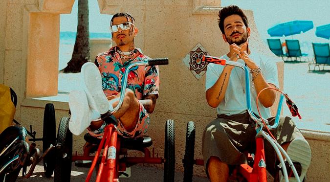 Rauw Alejandro y Camilo estrenan el remix de 'Tattoo' | VIDEO