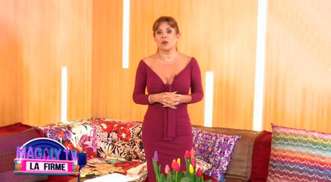 Magaly Medina revela que dio positivo a COVID-19