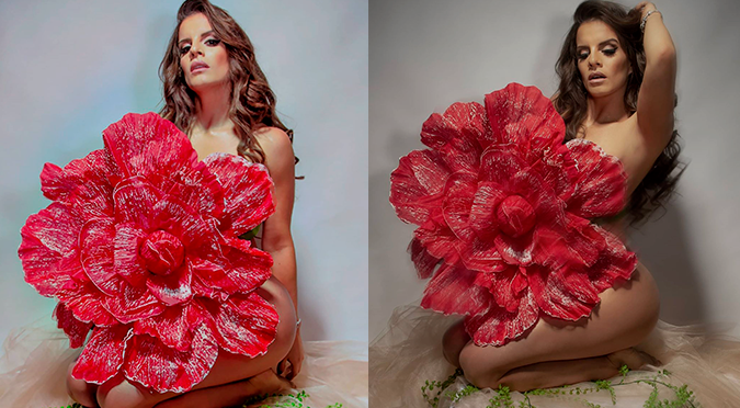 Alejandra Baigorria publica fotografía semidesnuda y alborota las redes sociales
