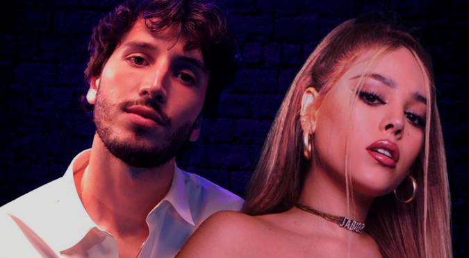 Sebastián Yatra y Danna Paola comparten romántico video en TikTok   VIDEO